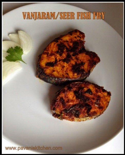 Vanjaram /seer fish fry
