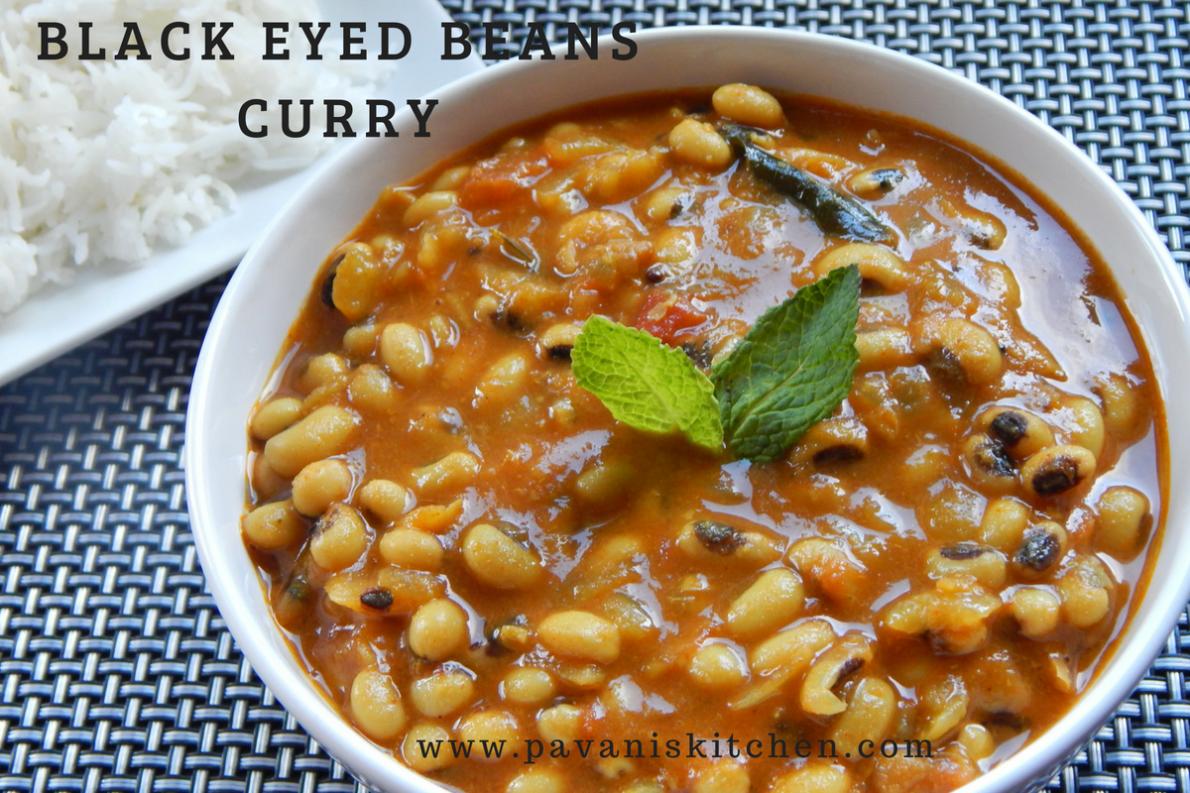 Black Eyed Beans Curry