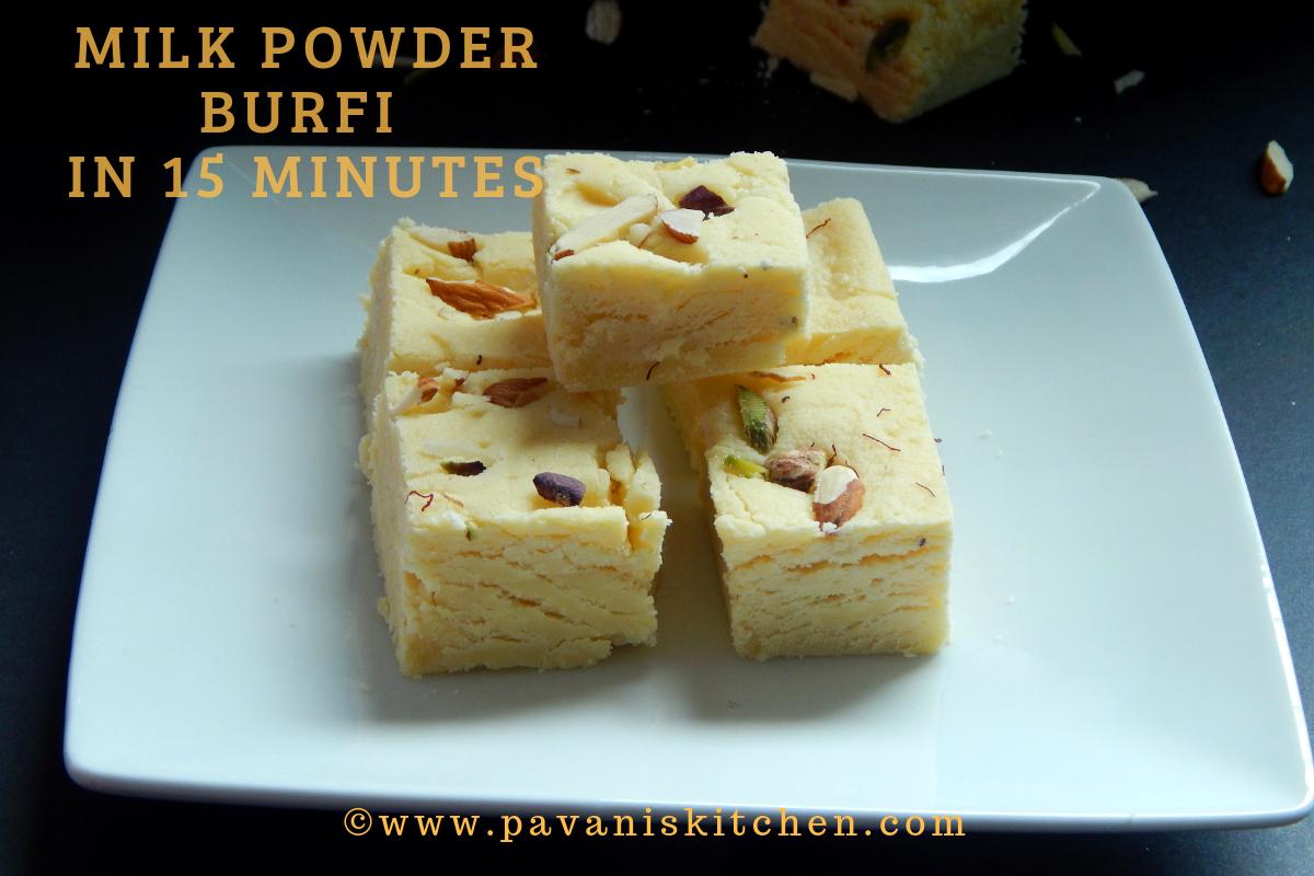 Milk Powder Burfi
