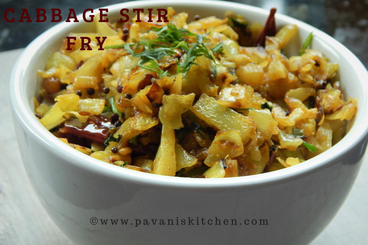 Cabbage Stir Fry