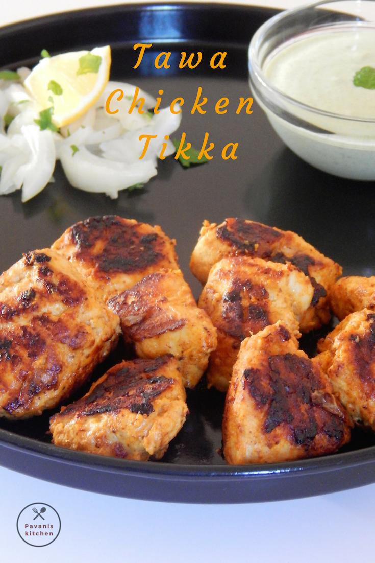 Tawa Chicken Tikka