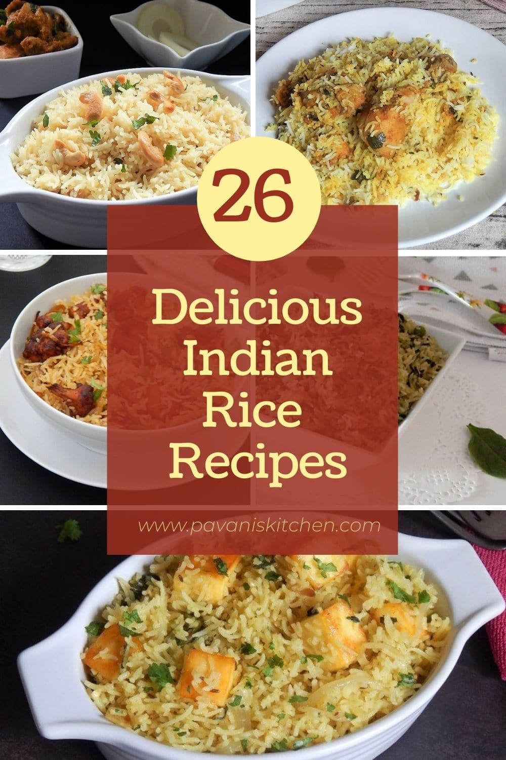 Round up of 26 Delicious Recipes
