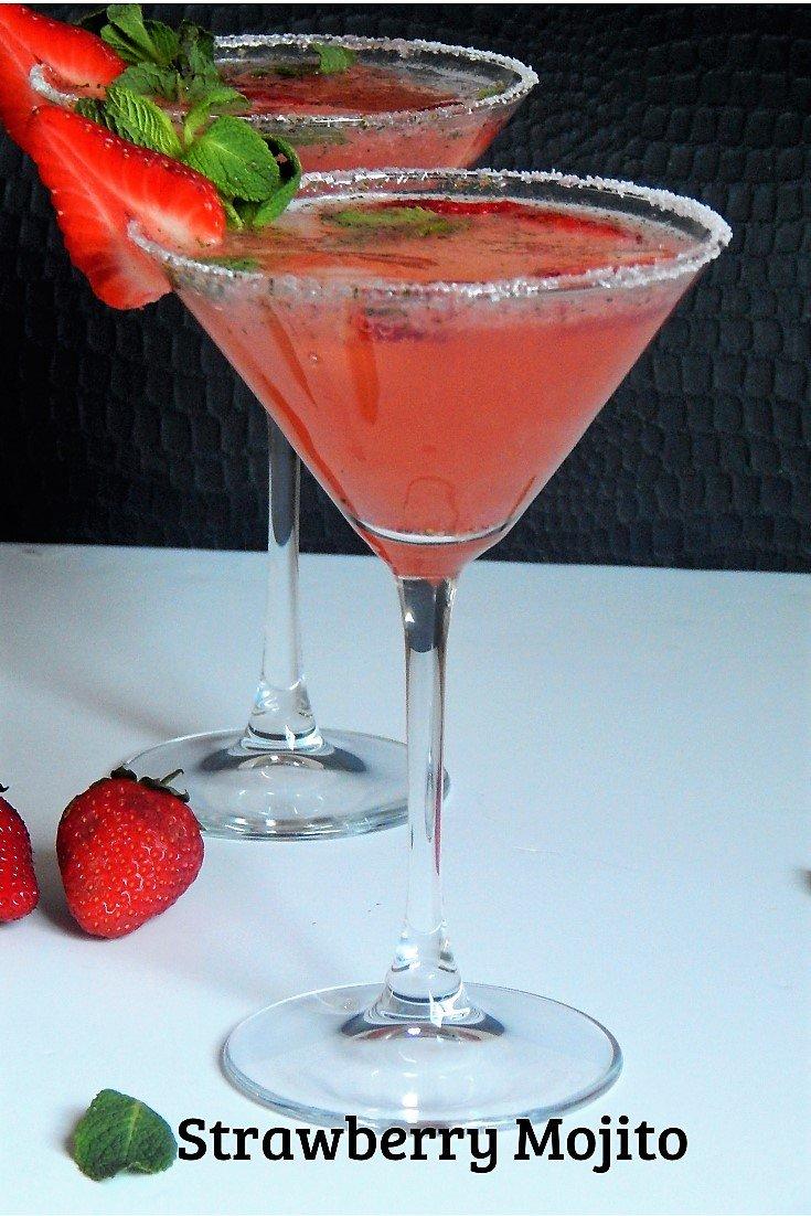 Easy Strawberry Mojito