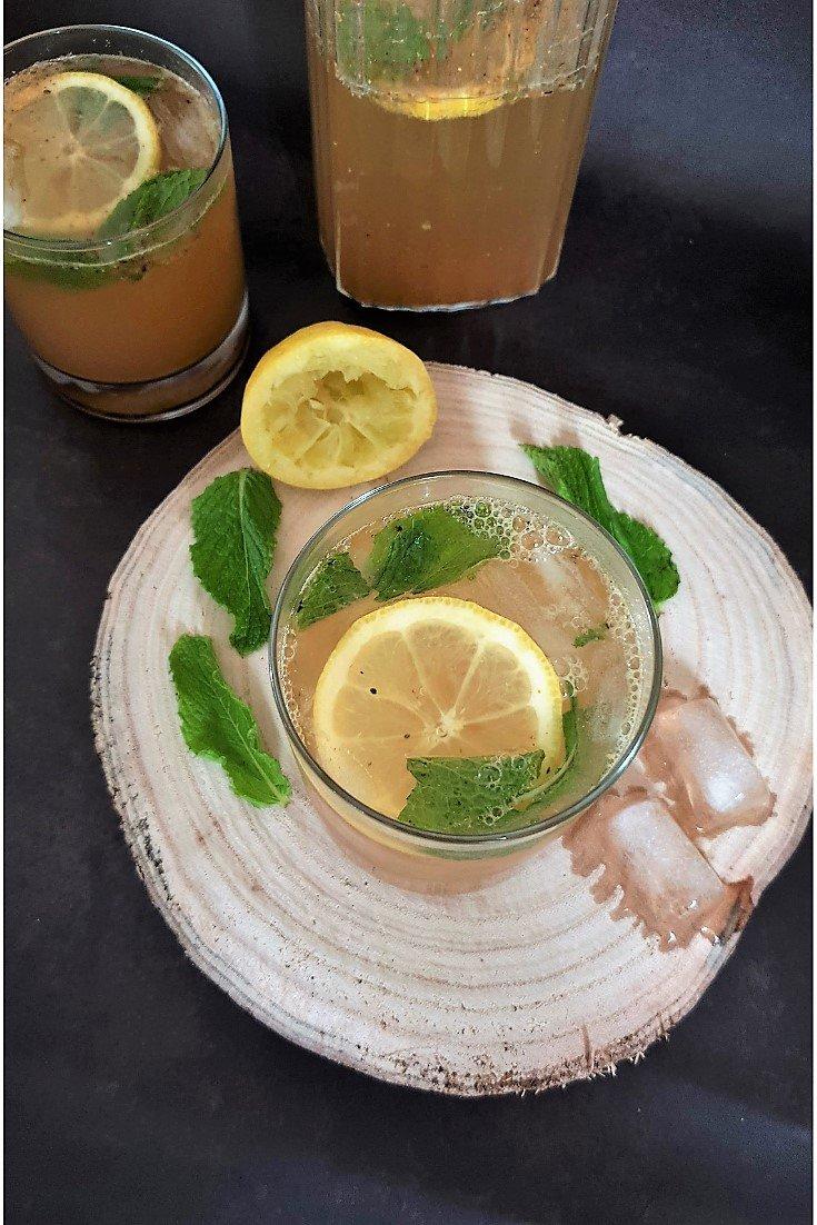 Easy Homemade Masala Lemon soda