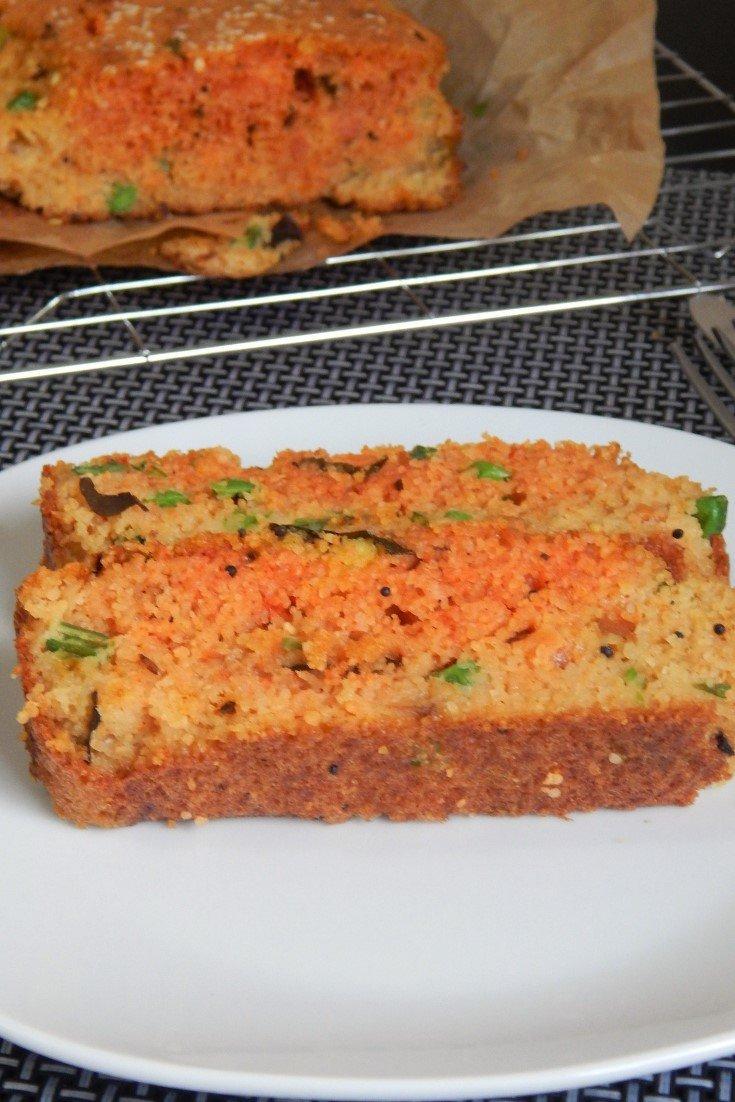Easy Savoury Semolina Cake