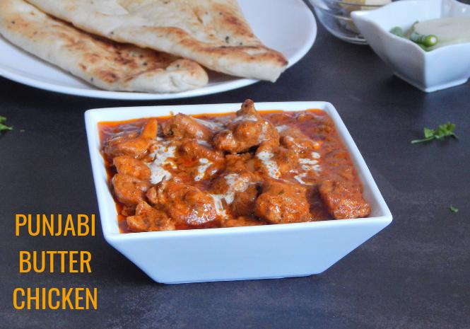 Punjabi Butter Chicken Recipe Easy Butter Chicken Pavanis Kitchen