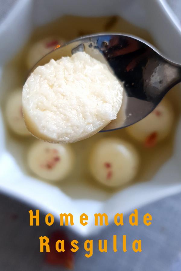 Easy Rasgulla Recipe
