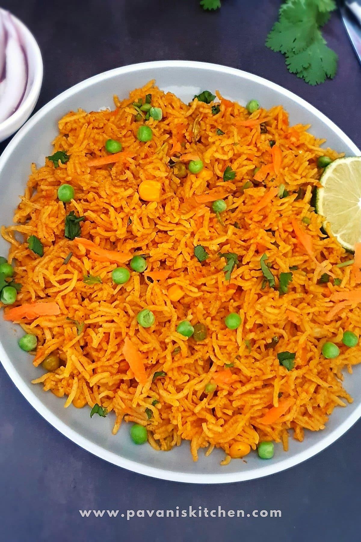 carrot coconut rice
