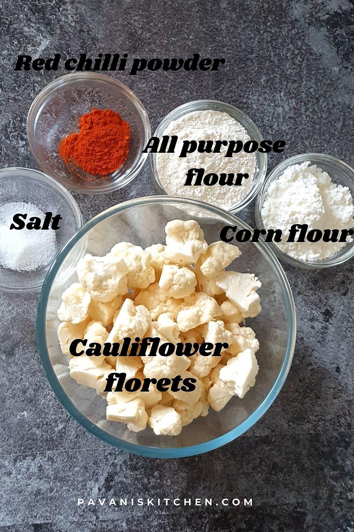 honey cauliflower