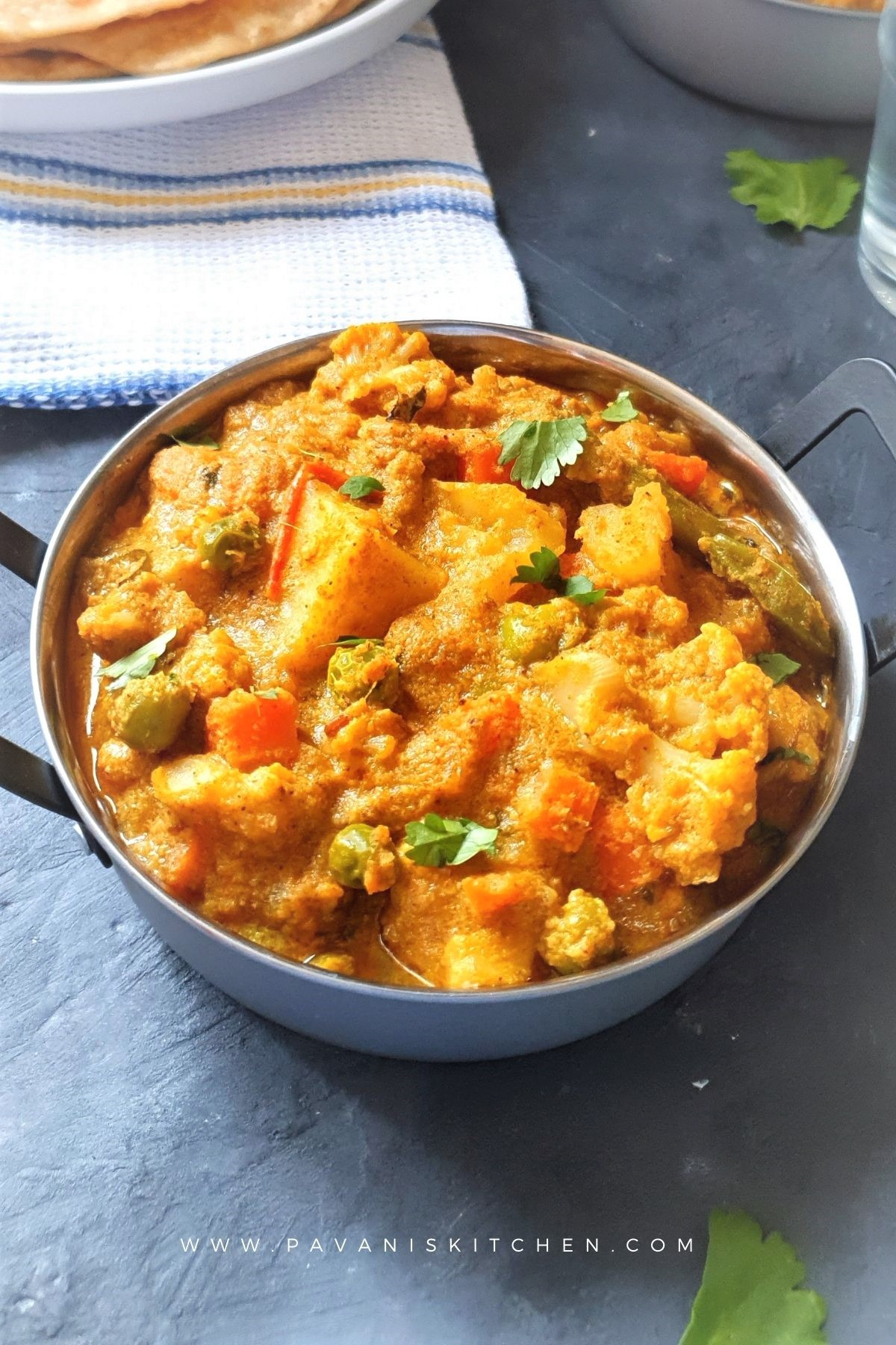 south Indian veg kurma