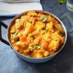 instant pot vegetable korma